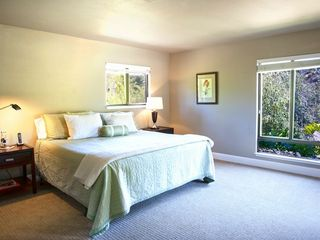 Healdsburg estate photo - Guest bedroom and endless views.