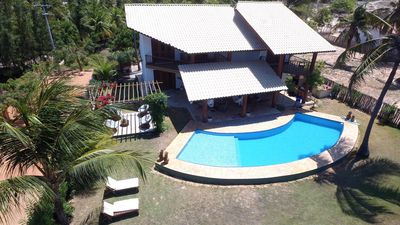 Charming beach house with 4 suites in Guajirú-EC Beach, kitesuf of paradise.
