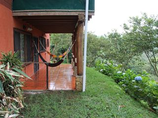 San Ramon villa photo - Our hammocks are a great place to spend the afternoon overlooking the canyon.
