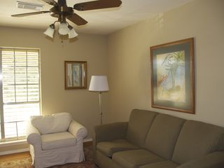 Clear Lake City townhome photo - .Office/living area upstairs includes desk and fold out sofa.