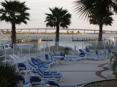 View of Perdido Pass from your window also overlooking pool.