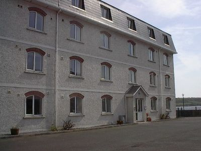 Youghal apartment rental - Courtyard