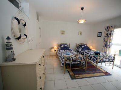 Sainte-Marie-du-Mont house rental - twin room ground floor