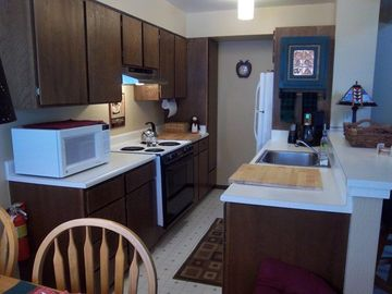 Complete kitchen including dishwasher and garbage disposal.