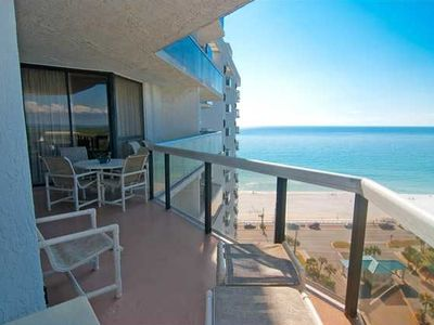 Surfside has the best balconies on the beach! Plenty of room for everyone.