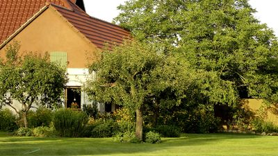 image for Romantic property with a large garden, brick barn and superb view