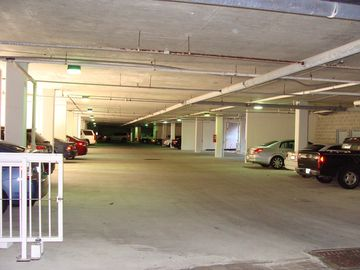 lower level covered private parking