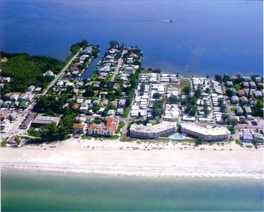 Beachfront location directly on over 7.5 miles of white sandy beach