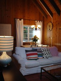 Lake Arrowhead house rental - Indulge in the living area that is full of rustic charms