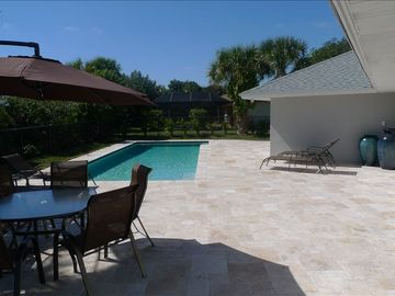 Vero Beach house rental - Patio with Pool