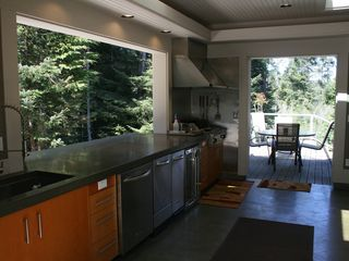 Bandon house photo - OutDoor Kitchen, 30Lb Ice Maker, Dishwasher, Refer, BBQ, Compactor