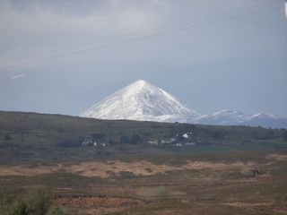 County Mayo house photo - Winter Snow Blankets Croagh Patrick