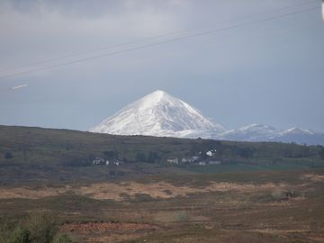 Winter Snow Blankets Croagh Patrick