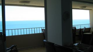 Luquillo condo photo - ocean view from dining area