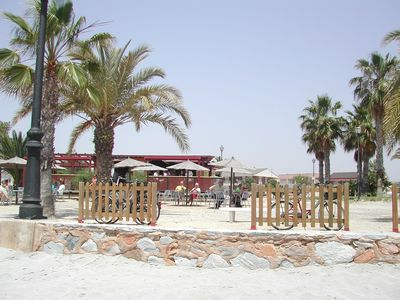 Los Alcazares apartment rental - Beach bar