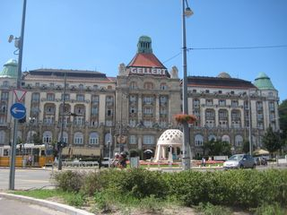 Budapest apartment photo - A short walk to the famous Gellert Bath house & Spa.