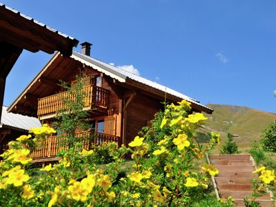 4-6 Pers. Apartment in a complex on the Piste by the ski lift.