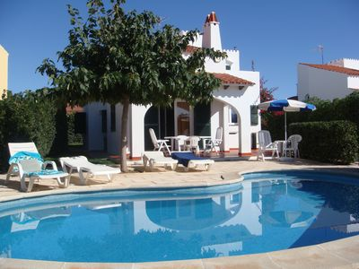 Beautiful detached villa with garden, private pool, Free Wifi, and sea view - Cap D'Artrutx