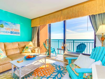 WOW TROPICAL DIRECT OCEANFRONT CONDO AT SANDCASTLE SOUTH/2 QUEENS/TILE
