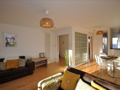 Apartment in Edinburgh with Internet, Lift, Terrace, Balcony (651520)