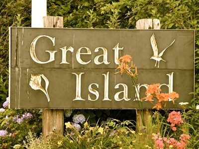Great Island...and you can drive there
