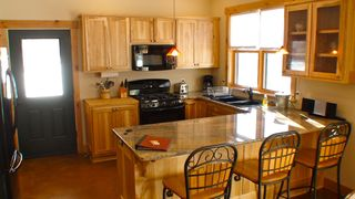 Durango house photo - The kitchen with new appliances and granite countertop has everything you need.