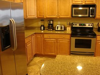 Oceans Mist Ocean City condo photo - Kitchen with Stainless Appliances