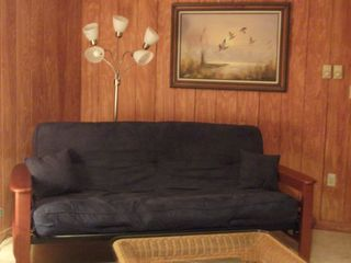 Arrowhead Lake chalet photo - Futon in game room