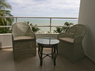 relax on the patio and feel the ocean breezes.