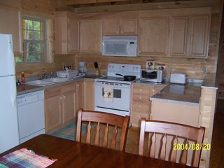 Townsend cabin photo - Kitchen