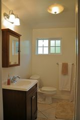 Los Angeles cottage photo - Bathroom with Large Shower & Washer/Dryer