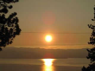 Dollar Point house photo - Imagine watching the sun rise over Lake Tahoe while eating breakfast on our deck