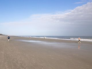Folly Field villa photo - Best Beach in HHI- Ride your bikes in the morning less than a 5 minute walk!