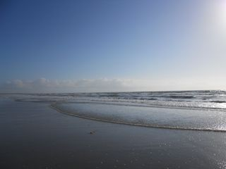 Cocoa Beach condo photo - the beach is beautiful and uncrowded - only a two minute walk to this great view