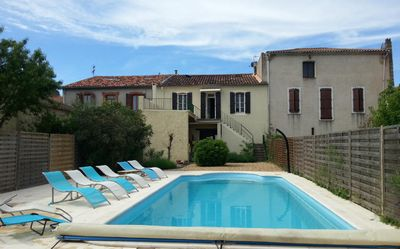 A 4 Bedroom House With Pool, Ideal For Large Families Or 2 Families Sharing.