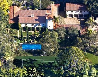 Montecito estate rental - Historical & Romantic Gated Montecito Estate with Pool, Spa and Tennis Court