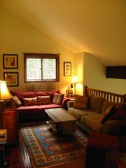 Bushkill chalet photo - loft - watch movies with surround sound