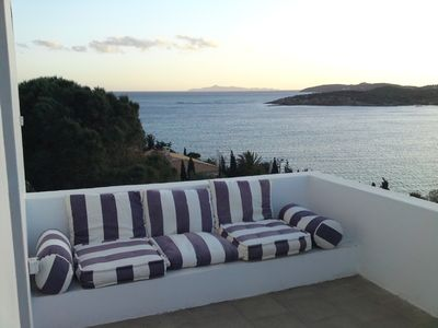 Sounio villa rental - Sea view to the Aegean