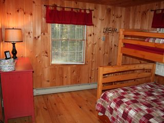 Big Bay cabin photo - Cozy Bedroom on Main Level