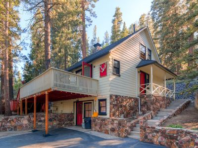 3br Big Bear Cabin W Private Hot Tub Sauna Vrbo