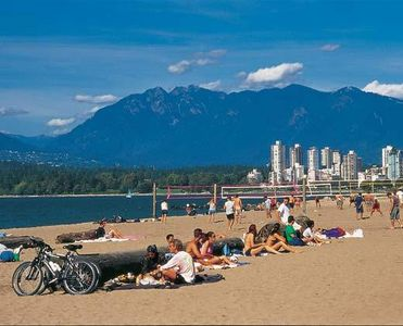 Kitsilano beach - within walking distance from townhome
