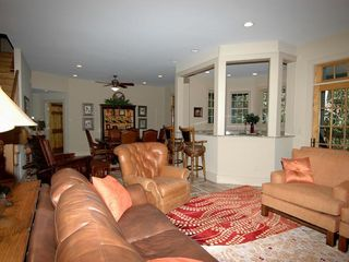 Cashiers estate photo - Lower Level Game Room & Entertainment Kitchen & Dining