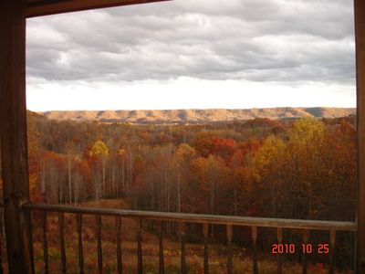 Fall in the Mountains! View from your back porch!