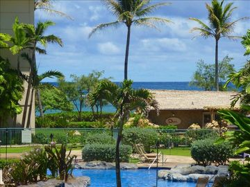 Waipouli condo rental - Beautiful Ocean and Pool Views from condo