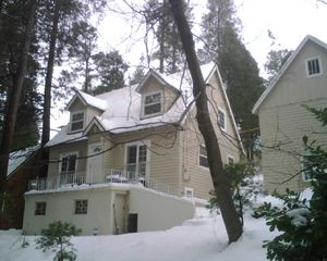 Lake Arrowhead house photo - Winter view