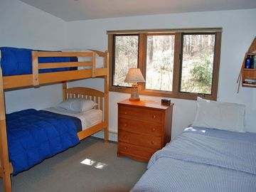 Guest Bedroom 3 has Beatiful Forested Views