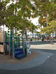 playground directly across from building