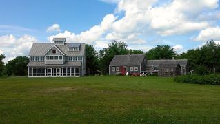 Milbridge house photo - Vacant 1820 Historic farmhouse used by owner when new house not rented.