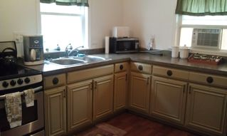 Lancaster apartment photo - The kitchen comes with a new, glass flat-top stove w/ large counter-top space.
