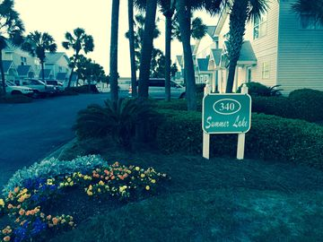 Miramar Beach townhome rental - Entrance
